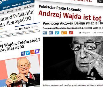 """Świat wspomina Wajdę. """"Umarł człowiek z żelaza polskiego kina"""""""