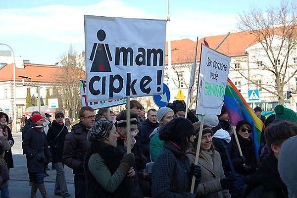 Manifa w Warszawie (zdj. arch.)