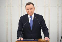 """Andrzej Duda złożył życzenia z okazji Dnia Kobiet. Dziękuje """"za cierpliwość, za ciepło"""""""