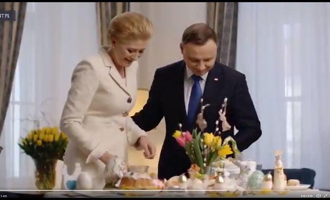 Andrzej Duda i Agata Kornhauser-Duda pozdrowili Polaków za granicą