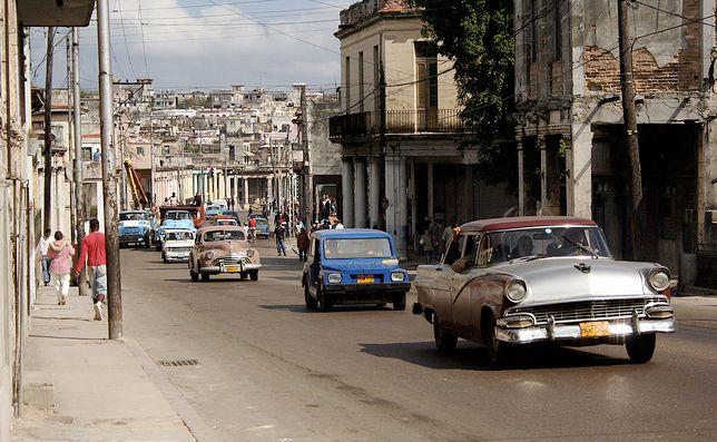 Ulica w Hawanie.