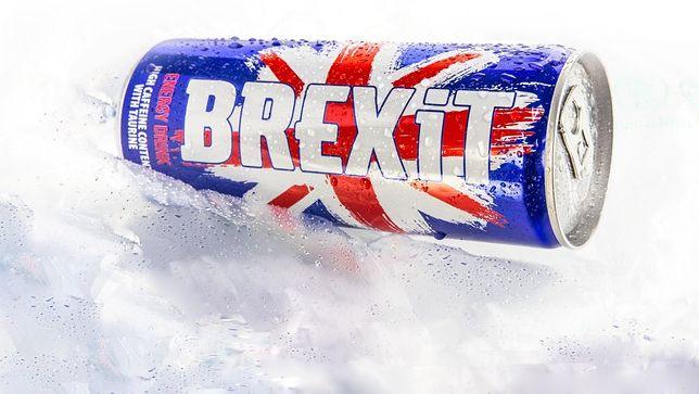 """Energetyk o nazwie """"Brexit"""" bez ochrony w Europie. Nie zarejestrowano znaku towarowego"""
