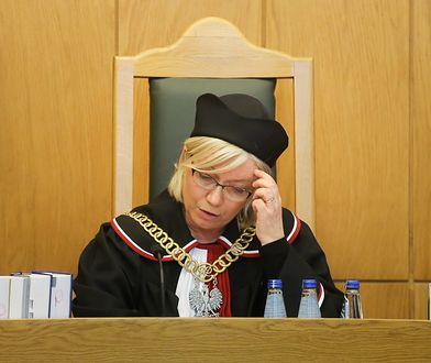 Julia Przyłębska będzie przewodniczyć składowi TK, który wyda orzeczenie w sprawie KRS