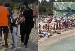 Rekin-ludojad u wybrzeży Majorki. Panika na plaży