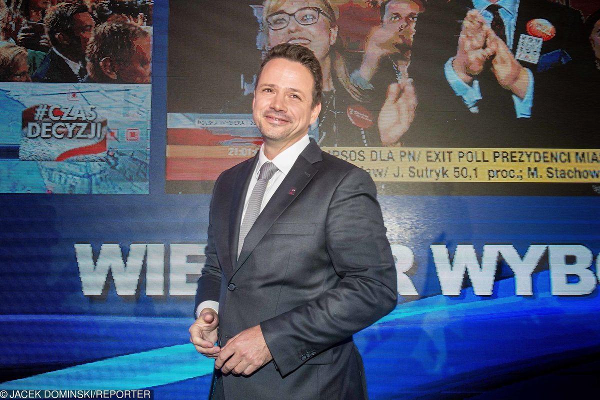 """Kim jest nowy prezydent Warszawy? """"Byłem chłopakiem, który nie raz dostał w zęby"""""""