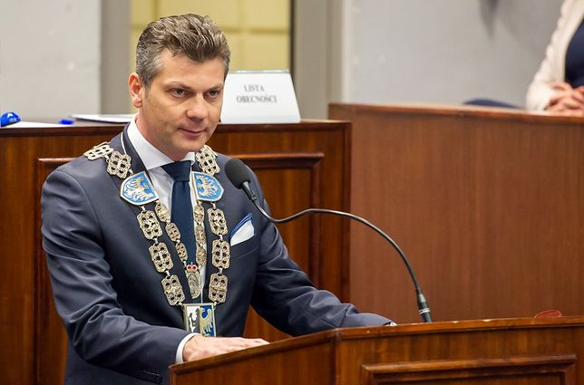 Bytom. W drugą rocznicę zaprzysiężenia na urząd prezydenta Mariusz Wołosz podsumował rok.