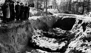 Ekshumacja ciał ofiar Zbrodni Katyńskiej w 1943 r.
