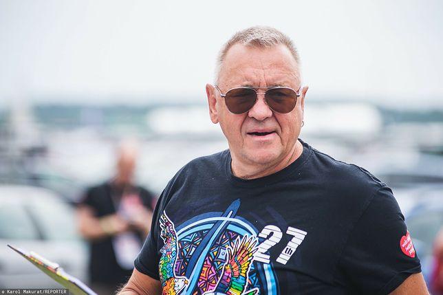 Jurek Owsiak na otwarciu Poll'and'Rock Festival