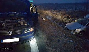 Mazowsze. Tragiczny wypadek samochodowy, nie żyje policjant