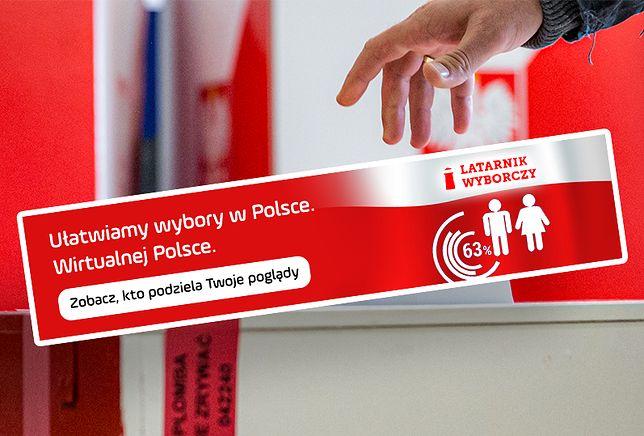 Sprawdź, na kogo zagłosować. Latarnik Wyborczy w Wirtualnej Polsce