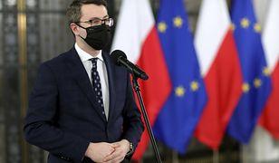 """Premier kieruje wniosek do TK. Rzecznik rządu """"dziwi się"""" Solidarnej Polsce"""