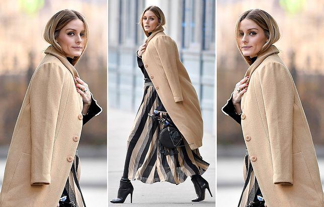 Nowojorska trendsetterka w najmodniejszym płaszczu sezonu