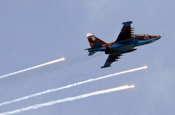 Separatyści zestrzelili ukraiński samolot bojowy
