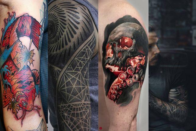 To od tatuaży na ramionach często rozpoczynamy przygodę z ozdabianiem swojego ciała