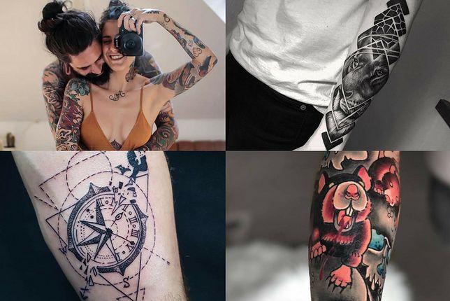Przedramię daje duże pole do popisu podczas tatuowania