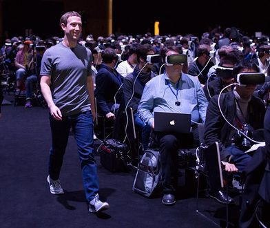 Mark Zuckerberg podczas Mobile World Congress 2017