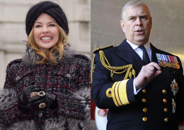 Kylie Minogue ma romans z księciem Andrzejem?