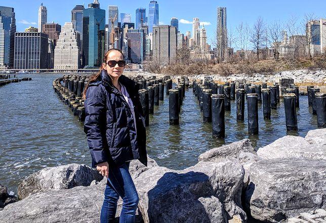 Mariola Cyra mieszka w Nowym Jorku, ale to tylko przystanek przed kolejną przeprowadzką