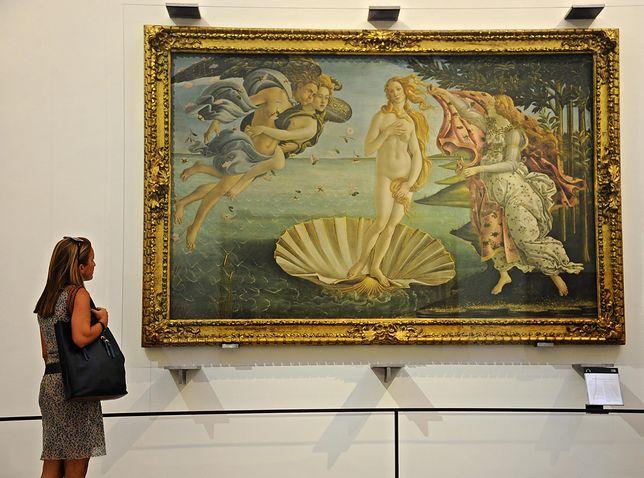 """Jak się okazuje, """"Venus"""" Botticellego potrafi wzbudzać sporo emocji"""