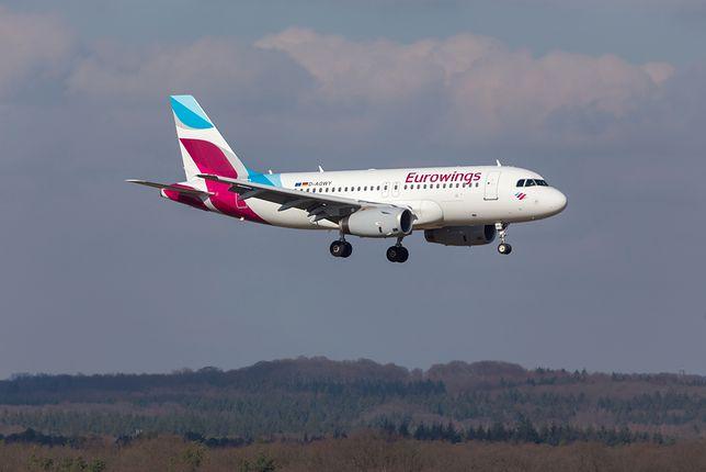 Silne turbulencje na trasie z Lamezia Terme do Berlina. 8 osób zostało rannych