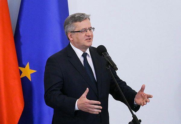 Bronisław Komorowski: mało poważne są propozycje zmiany całego systemu prawnego w Polsce