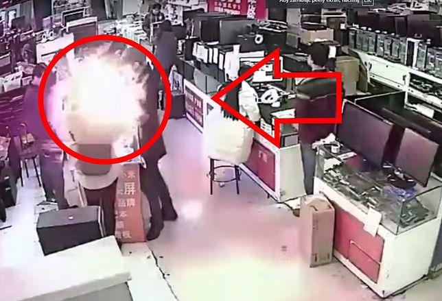 Mężczyzna pogryzł baterię do iPhone'a. Wybuchła mu w zębach.