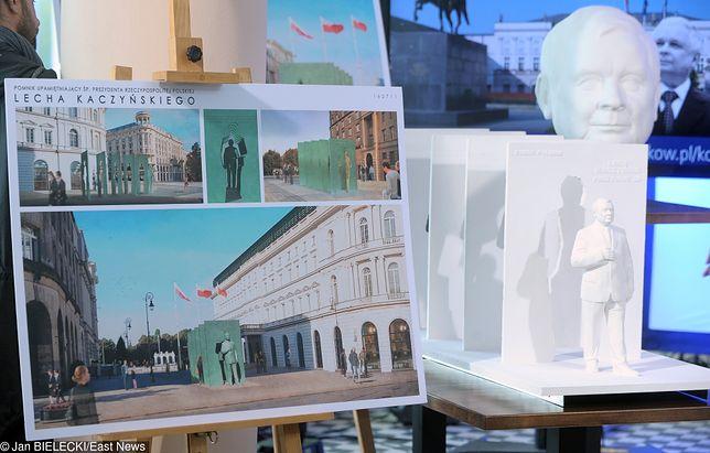 Finałowe projekty w konkursie na pomnik Lecha Kaczyńskiego