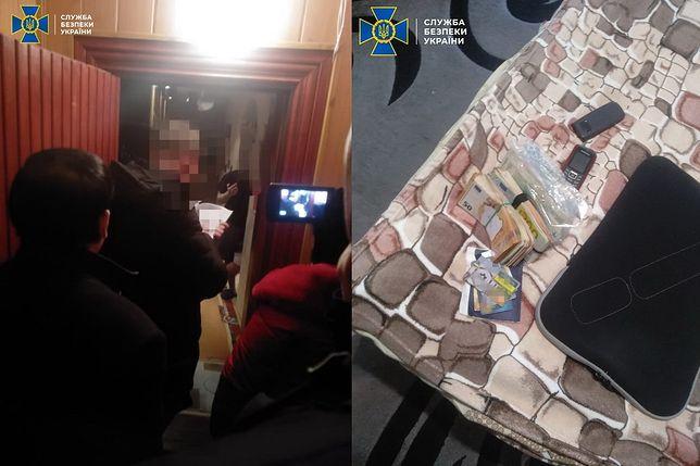 Ukraina. SBU podczas przeszukania mieszkania podejrzanych