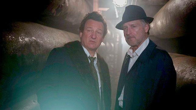 """Bill Pullman i Robert Więckiewicz w filmie """"Ukryta gra"""""""
