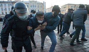 Rosja. Protesty w obronie Nawalnego. Zatrzymano ponad 300 osób