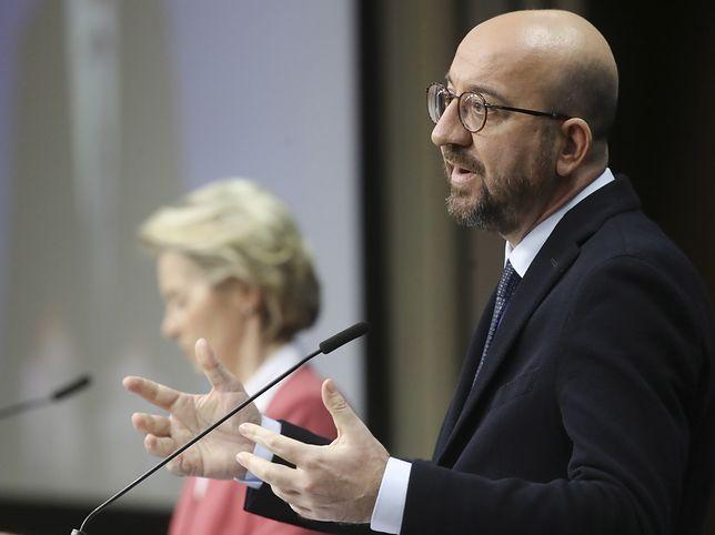 Koronawirus. Charles Michel chce zawarcia międzynarodowego traktatu ws. pandemii