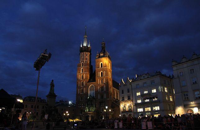 Kraków. Dron Ukraińca spadł na zabytkową Bazylikę Mariacką