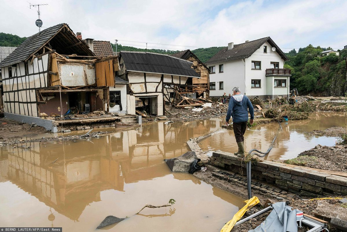Niemcy. Tragiczne skutki powodzi