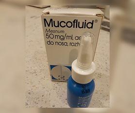 Dystrybucja Mucofluidu zatrzymana. Lek używany w leczeniu niedrożności nosa