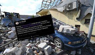 Czechy po tornadzie. Będzie pomoc? Jest decyzja rządu