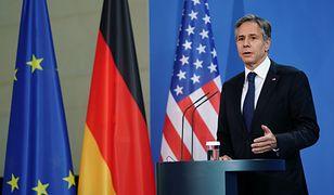 Sekretarz Stanu USA Antony Blinken w Berlinie
