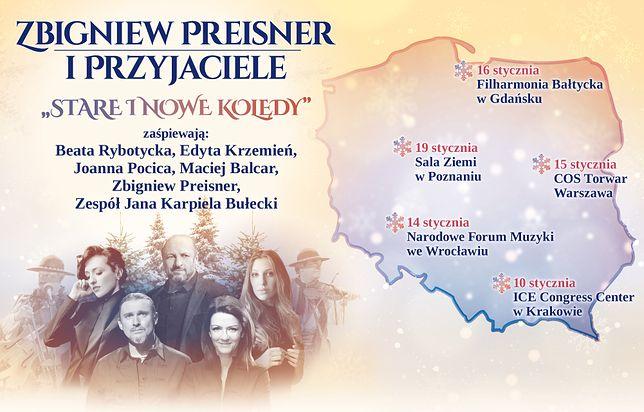 Kolędy Preisnera w ekskluzywnym wydawnictwie
