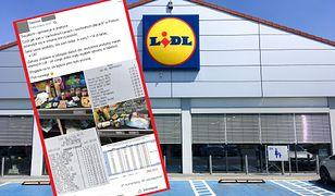 Pan Damian zrobił zakupy w Lidlu w Polsce i Wielkiej Brytanii. Różnica w cenach go zaskoczyła.