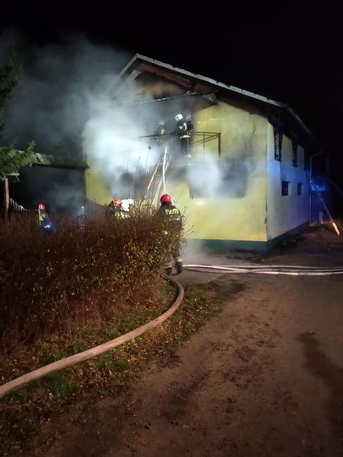 Do pożaru doszło w nocy z czwartku na piątek