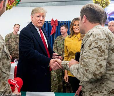 Prezydent USA i jego żona polecieli do Iraku