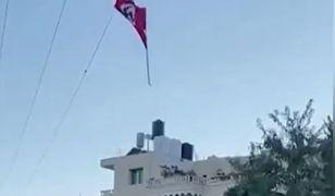 Izrael. Wojsko zestrzeliło flagę ze swastyką