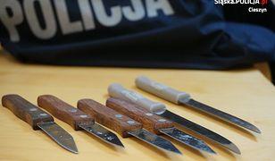 Atak nożownika w Cieszynie. Policja: zagrożenie było realne