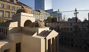 Wielka Synagoga w centrum Warszawy