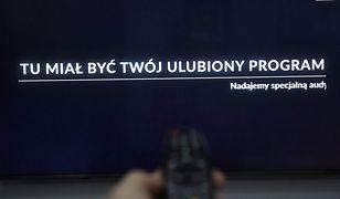 Media bez wyboru. Więcej ludzi oglądało czarną planszę na TVN24 niż TV Republikę
