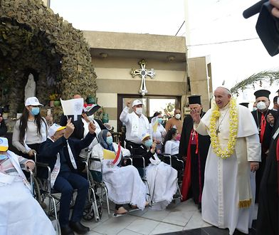 Irak. Papież Franciszek: nasi bracia i siostry zapłacili tu najwyższą cenę