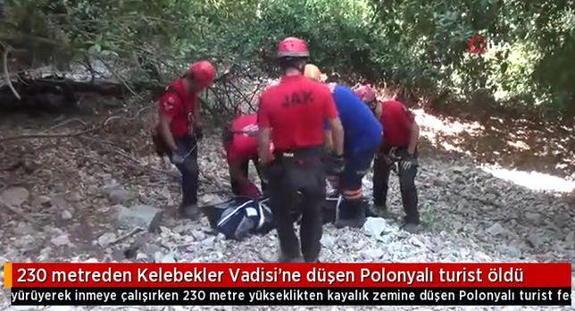 Polak zginął w Turcji. Spadł z 230 metrowego klifu