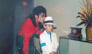 Michael Jackson z Wade'em Robsonem, rzekomą ofiarą króla popu