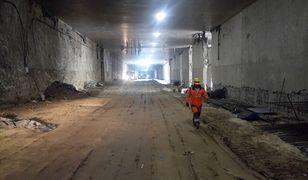 Wielka piaskownica w stolicy. Nasza reporterka na budowie najdłuższego tunelu w Polsce