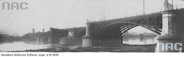 Warszawskie mosty w budowie (STARE ZDJĘCIA)