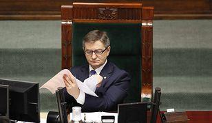 Marek Kuchciński, polityk i dzienniakarz, od 2015 marszałek sejmu
